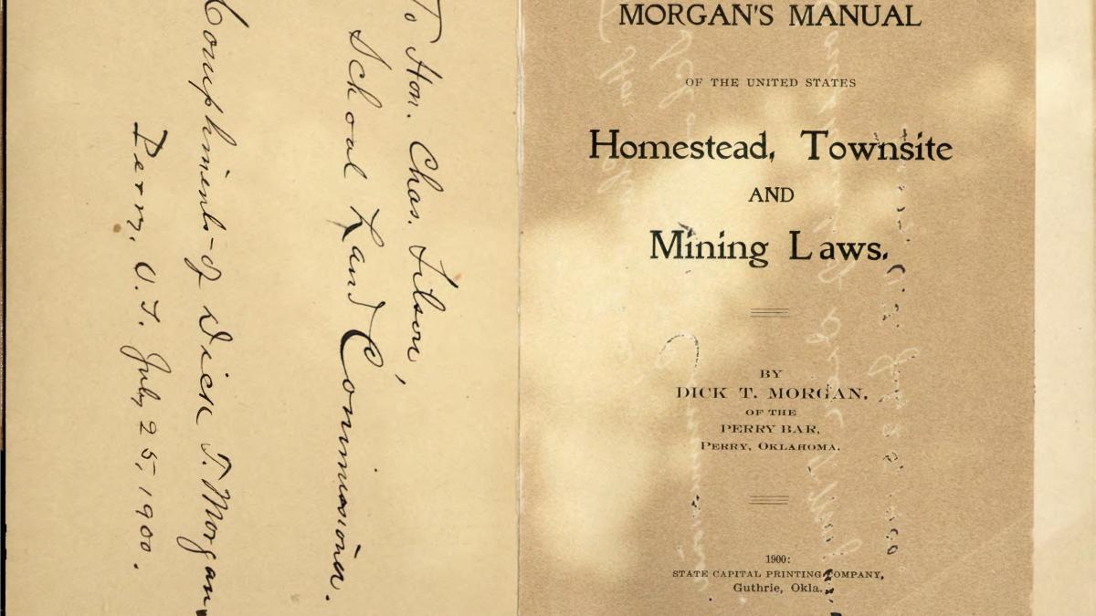 Morgan's Manual