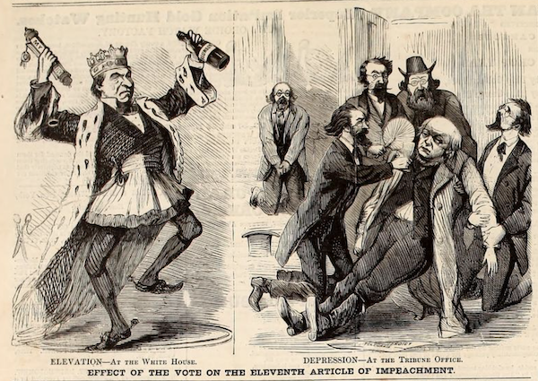 Andrew Johnson acquittal
